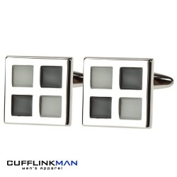 Sky Night Windows Cufflinks