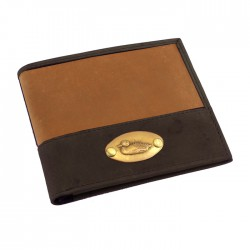 Leather Duck Plate Wallet