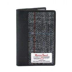 Passport Holder - Harris Tweed - Berneray Tartan by The British Bag Company