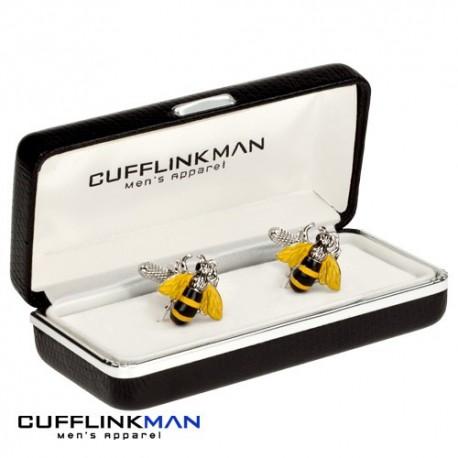 Busy Bee Cufflinks
