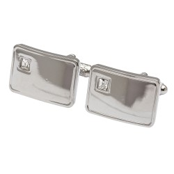 Crystal Lyrics Cufflinks