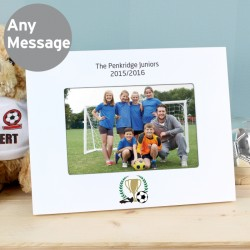 Personalised Football Photo Frame