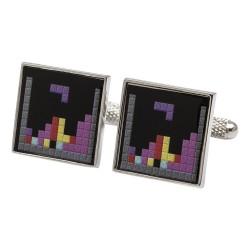 Tetris Retro Gaming Cufflinks