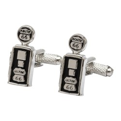 U.S. Gas Pump Cufflinks - Route 66 Gas Pump Cufflinks