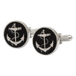 Anchor Medallion Cufflinks