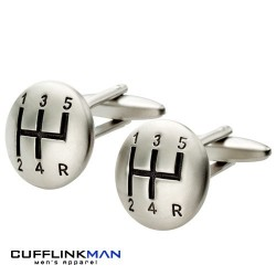 5 Gear Cufflinks - Brushed edition Cufflinks