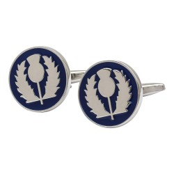 Thistle Medallion Cufflinks
