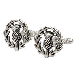 Thistle Crest Cufflinks