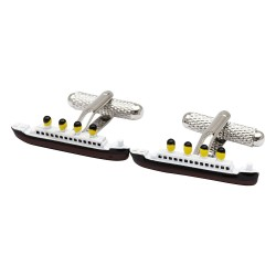 Titanic Cufflinks - Ship Cufflinks