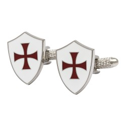 Knights Templar Shield Cufflinks