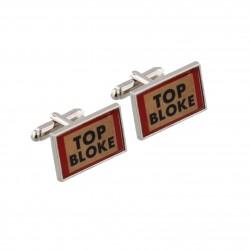 Top Bloke Cufflinks