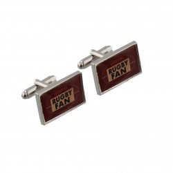 Rugby Fan Cufflinks