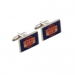 Cricket Fan Cufflinks