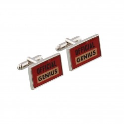 Official Genius Cufflinks