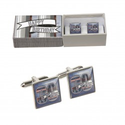 30th Birthday Cufflinks