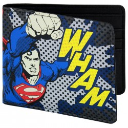 Superman Wham Wallet - DC Licensed