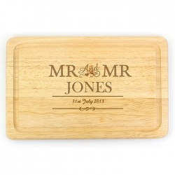 Mr & Mr Large Chopping Board