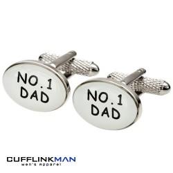 Number 1 Dad Cufflinks