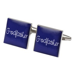 Square Purple - Godfather Cufflinks