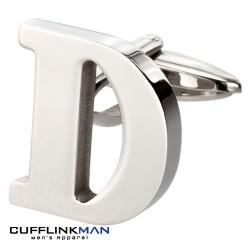 Letter D Cufflink
