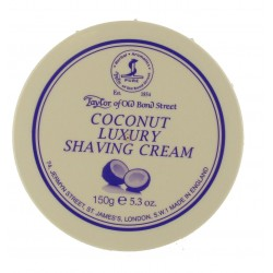 Coconut Luxury Shaving Cream - Taylor of Bond Street