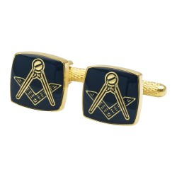Masonic Blue Cufflinks