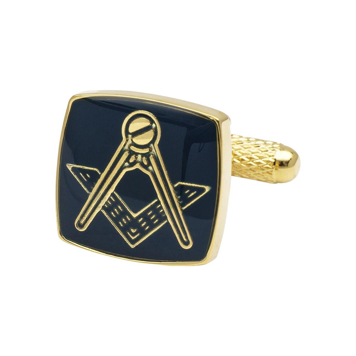 Masonic Blue Cufflinks - Cufflinkman