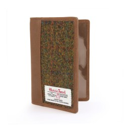 Harris Tweed Stornoway Passport Holder -  by The British Bag Company