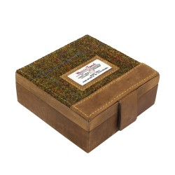 Tweed Cufflinks Case Stornoway
