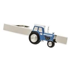 Blue Tractor Tie Bar - Tie Clip