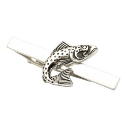 Fish Tie Bar - Tie Clip