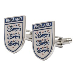 England Shield Cufflinks - Three Lions Cufflinks