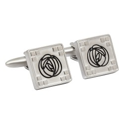Silver Rennie Mackintosh Cufflinks