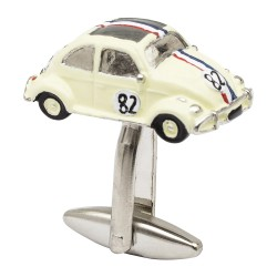 Beetle Car Cufflinks - Herbie Cufflinks