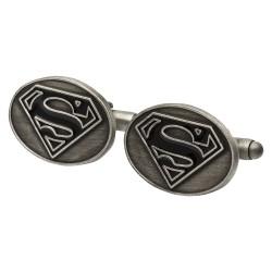 Superman Medallion Cufflinks