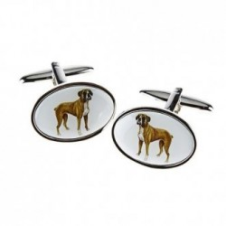 Boxer Dog Cufflinks