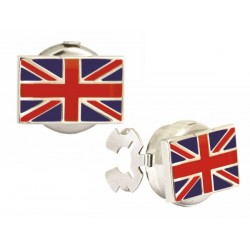 Union Jack Button Cover