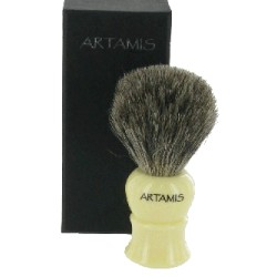Ivory Mixed Badger Brush in Gift Box