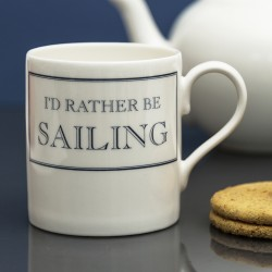 I'd Rather be Sailing Mug