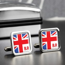 Personalised Union Jack Cufflinks