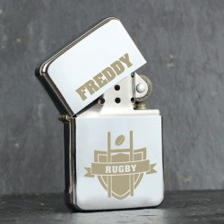 Personalised Rugby Oil Lighter