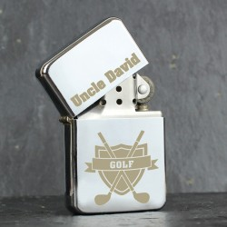 Personalised Golf Oil Lighter