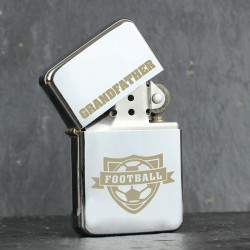 Personalised Football  Oil Lighter