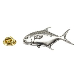 Tuna Fish - Fishing - Pewter Lapel Pin Badge