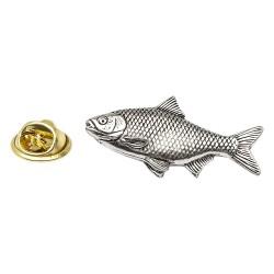 Roach Fish - Fishing - Pewter Lapel Pin Badge