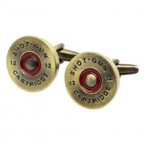 Brass Shotgun Cap Cufflinks