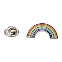 Rainbow Gay Pride Lapel Pin
