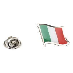 Flag of Italy Lapel Pin - Wavy Flag