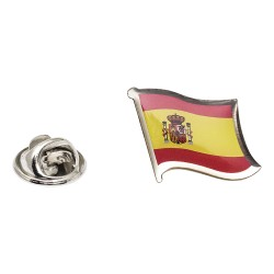 Flag of Spain Lapel Pin - Wavy Flag