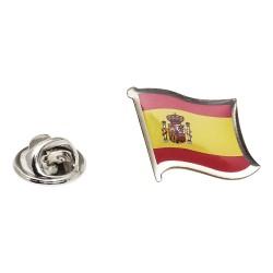 Flag of Spain Lapel Pin - Wavy Flag